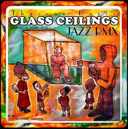 thaione davis - glass ceilings remix art