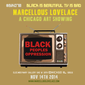 #BIKO70 BLACK IS BEAUTIFUL TV IS BAD_MASTER FLYER_ART SHOW_FLYER 2 copy