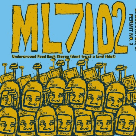 Underground Feed Back Stereo (dont trust a land thief) - ML7102 - cover